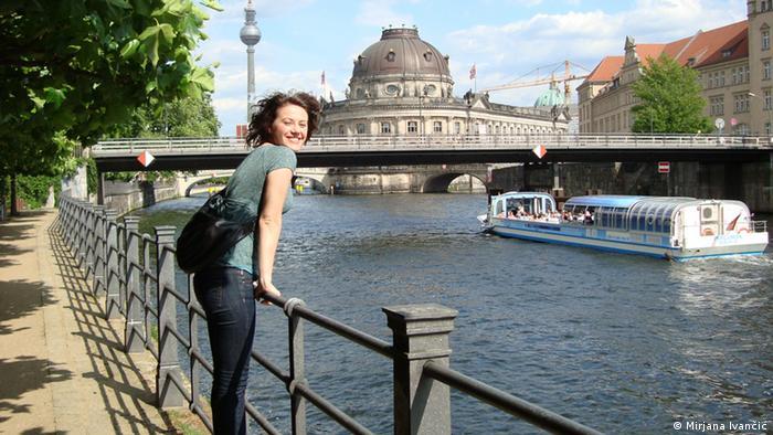 kroatische Studentin Mirjana Ivancic in Berlin Stichworte: Kroatien, Deutschland, Studium, Zagreb, Berlin, studieren Datum: Mai, 2013 Copyright: Mirjana Ivančić