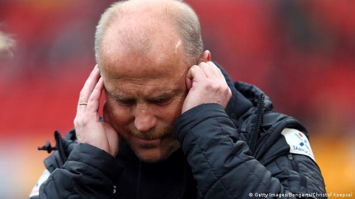 Bremen hält sich die Ohren zu. Foto: Getty Images