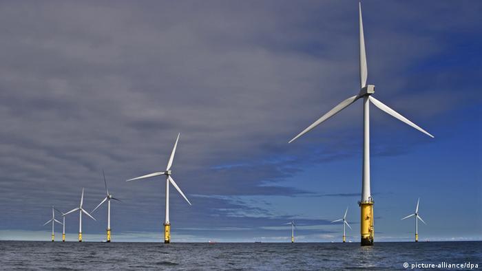 RWE-Windpark Großbritannien Nordwales