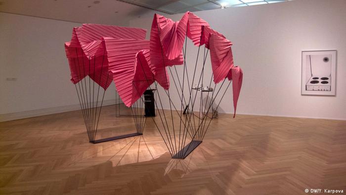 Работа Кирстен Ахтерман (Kirsten Achtermann) на выставке Atlas 2013