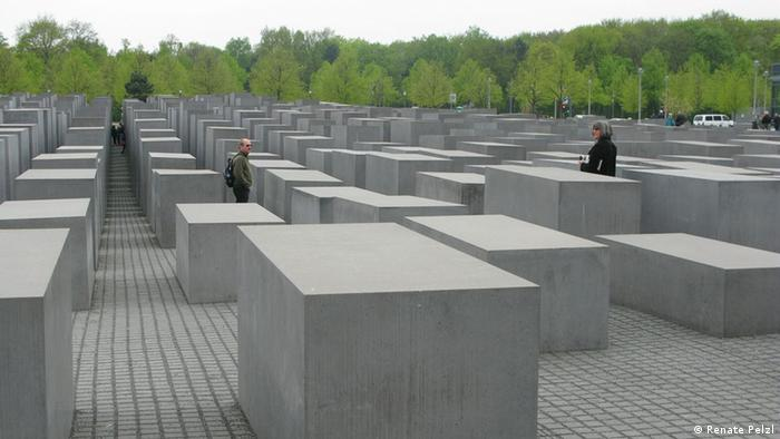 Das Holocaust-Mahnmal in Berlin (Foto: Renate Pelzl)