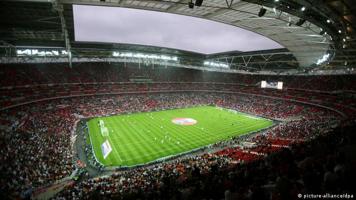 Fußball Wembley Stadion London UEFA Champions League Finale