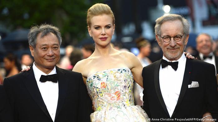Cannes Filmfestival 2013 Eröffnung 15.05. Ang Lee Nicole Kidman Steven Spielberg