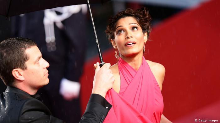 Cannes Filmfestival 2013 Eröffnung 15.05. Freida Pinto