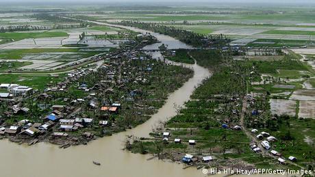 Zyklon Nargis ARCHIVBILD Myanmar 2008 (Hla Hla Htay/AFP/Getty Images)