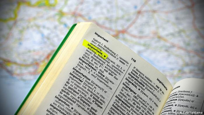 Словарь и карта