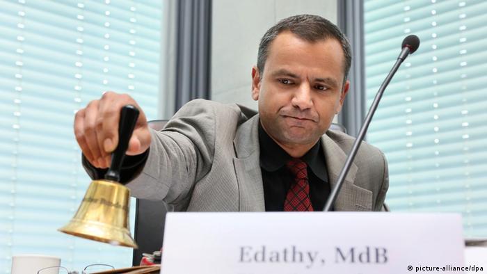 Sebastian Edathy, 16.05.2013 in Berlin. Der Bundestags-Untersuchungsausschuss zu den Morden der NSU.