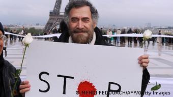 Ali Ferzat, caricaturista sirio.