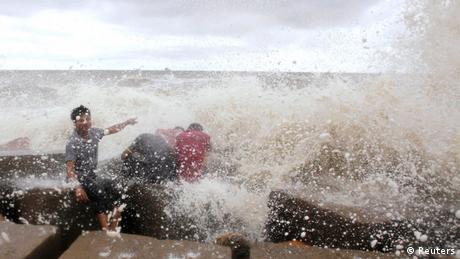 Bangladesch Zyklon Mahasen Golf von Bengalen