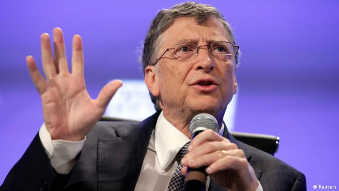 Bill Gates auf Peterson Institute 2013 Fiscal Summit (Reuters)
