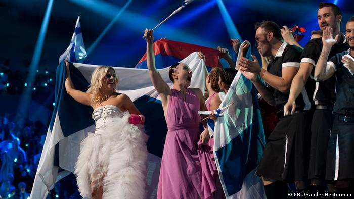 The winners in the second semi-final ahead of the 2013 ESC finale
