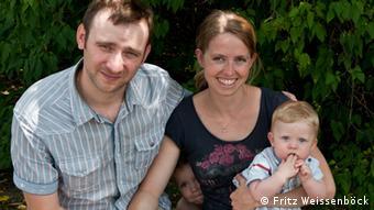 Марія Вайссенбек із родиною