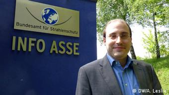 Florian Emrich, Press Spokesman for the German Federal Office for Radiation Protection (Photo: André Leslie)