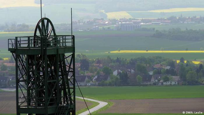 The Asse nuclear waste site with the village of Remlingen in the background (Photo: André Leslie)