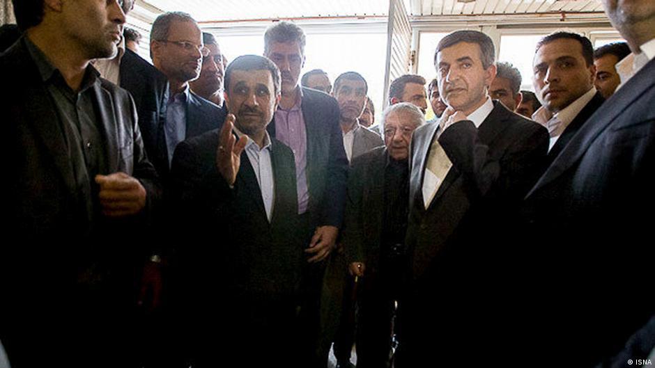 انتظامی از بردن خود به ثبتنام رحیممشایی خبر نداشت ایران DW ...