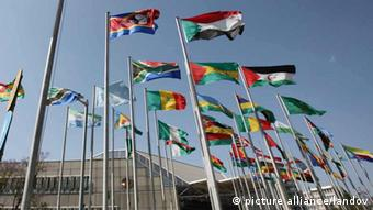 Flaggen African Union AU