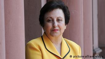Portrait Shirin Ebadi. (Photo: Arne Dedert dpa/lhe)