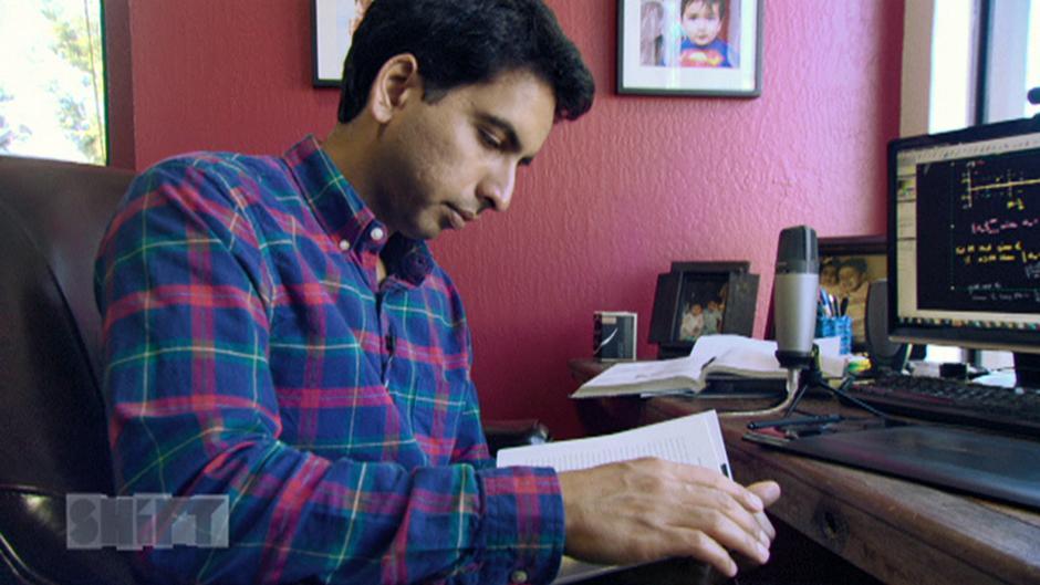 Salman khan founder of khan academy shift interview for Umaima marvi
