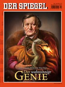 Безумный гений: обложка журнала Spiegel