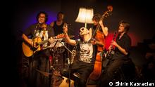 Konzert des iranischen, in Köln lebenden Rappers Shahin Najafi mit Ensemble im Alten Pfandhaus am 17. Mai in Köln *** Bilder von Shirin Kasraeian, der Deutschen Welle kostenlos zur Verfügung gestellt