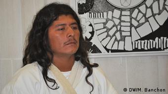 José de los Santos Sauna, gobernador de los kogui de Sierra Nevada de Santa Marta.