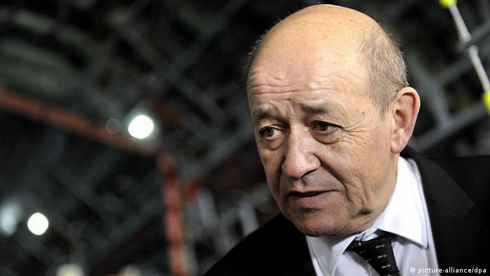 ژان ایو لودریان، وزیر دفاع فرانسه