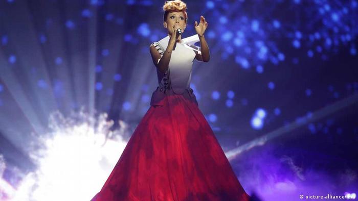 ESC Eurovision Song Contest in Malmö Moldavien