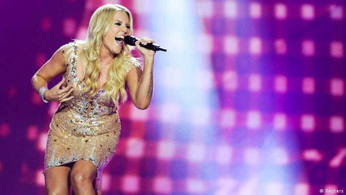 ESC Eurovision Song Contest in Malmö Deutschland Cascada