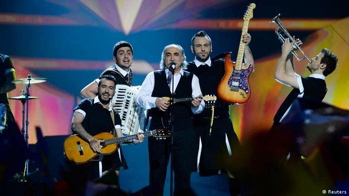 ESC Eurovision Song Contest in Malmö Griechenland