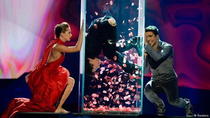 ESC Eurovision Song Contest in Malmö Aserbaidschan