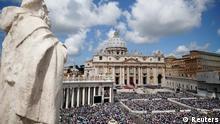 Papst Messe zu Pfingstsonntag 2013