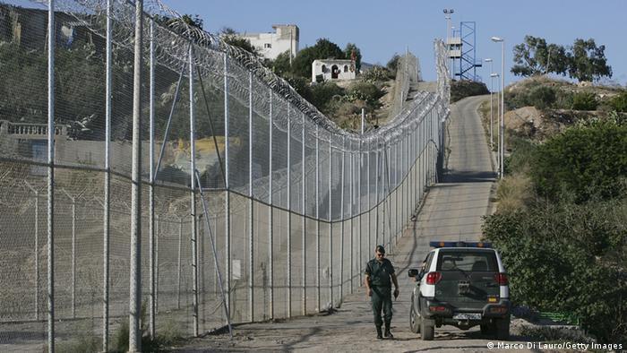 Melilla Grenze spanische Enklave Marokko