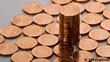 Symbolbild Geld Münze Cent