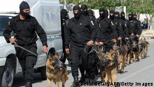 Tunesien Auseinandersetzungen Salafisten Polizei