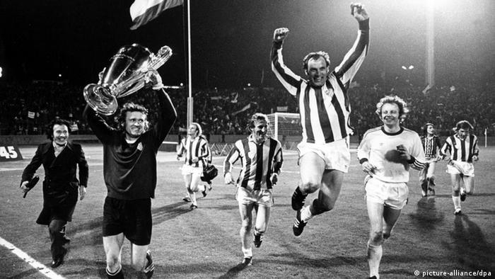 Final de la Copa de Europa FC Bayern Múnich contra el Atlético de Madrid 1974.