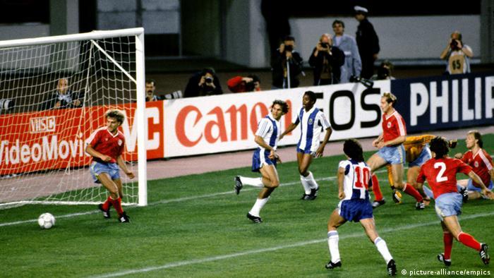 Final de la Copa de Europa FC Bayern Múnich contra el FC Porto.