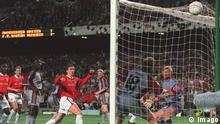 Europapokal Finale Manchester United - Bayern München 1999