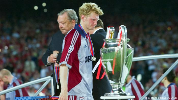Final de la Copa de Europa FC Bayern Múnich contra el Manchester United.