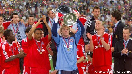 Europapokal Finale FC Valencia - Bayern München 2001