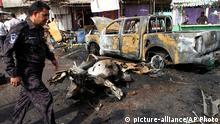 Bombenanschlag in Basra Irak