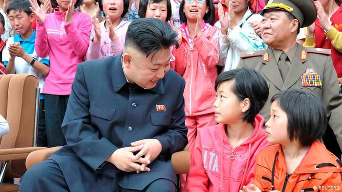 Kim Jong Un besucht ein Kindercamp in Nordkorea