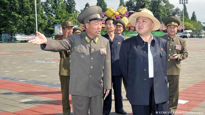 Nordkorea Kim Jong-Un besucht Freizeitpark