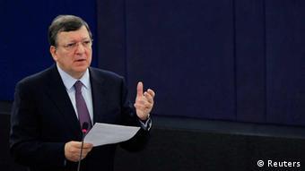European Commission President Jose Manuel Barroso REUTERS/Vincent Kessler