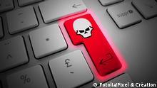 Symbolbild: Computervirus