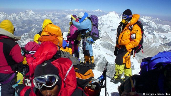 Bildergalerie 60 Jahre Mount Everest-Erstbesteigung