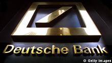 Deutsche Bank Logo Zentrale in New York