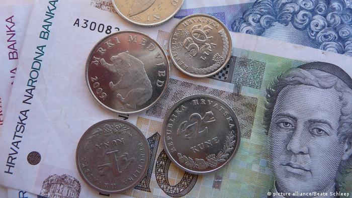 Geld Kroatien Kuna und Lipa