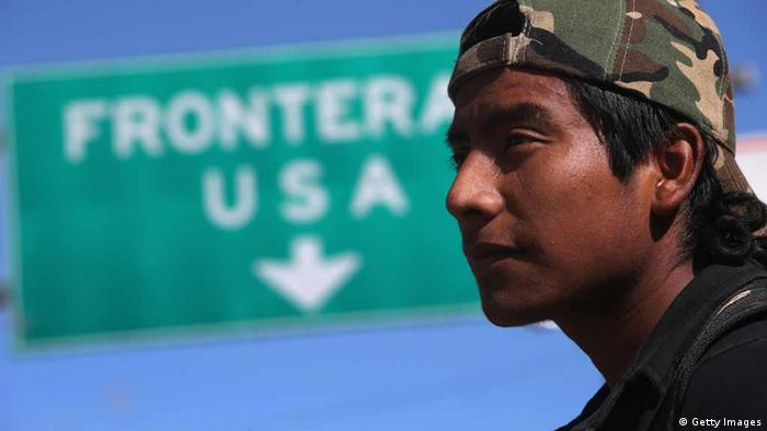 A man in front of a Frontera USA sign (Getty Images)