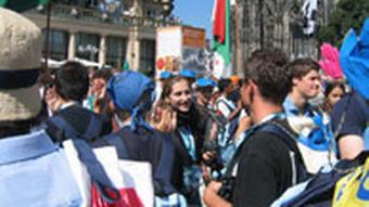 Weltjugendtag Pilgerfahrt 17. August 2005