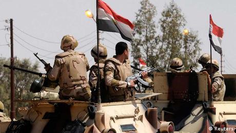 Ägypten Soldaten Sinai